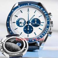 Мужские мужские 50-я Snoopys 1970 Apollo's Limited Edition LuxuryСмотреть Часы Автоматическое движение Механический Джеймс Бонд 007 МастерMontre de luxe наручные часы