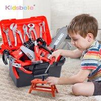 Kinder Toolbox Kit Simulation Reparaturwerkzeuge Bohrer Kunststoff Spiel Lernen Ingenieurwesen Pädagogische Puzzle Spielzeug Geschenke empfehlen