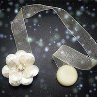 Andere Wohnkultur 1 stück Blumenform Magnetischer Vorhang Raffback Fenster Vorhänge Magnet Schnalle Halter Armband Zubehör 2 1