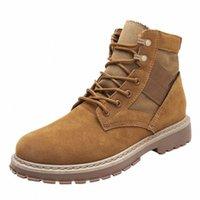 Lasperal мужские ботинки мужчины зимние туфли плюс размер 39 44 теплые лодыжки ботас кружевные зимние сапоги обувь плюшевые кроссовки мужские 66hx #