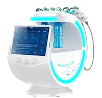 7 in 1 Ice Blue Magic Mirror Skin Analyzer Face Lifting Microdermabrasion Oxygen Sprayer Hydrodermabrasion Deep cleaning Machine