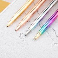 جديد rainbow روز الذهب المعادن حبر جاف القلم طالب مدرس الكتابة هدية الإعلان توقيع الأعمال القلم القرطاسية اللوازم المكتبية FWA4143