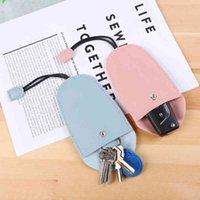 Key Wallets Car Case Smart Keychain for Women Designer Mini Bag Organzier Wallet Pouch Pull Cover Holder