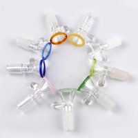 Royal Smoking Accessories Water Drop Glass Bowl 14mm 18mm Male Joint For beaker Bubbler And Ash Catcher Bong