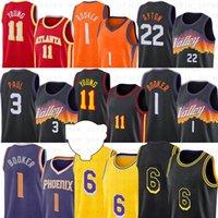 4 Russell 13 James Westbrook Harden Hakeem 34 Houston Olajuwon 2021 NCAA Men Nova cidade de basquete jerseys