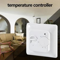 Smart Home Control Multifunction Water Electric Floor Heating Thermostat Warm Temperature Controller For