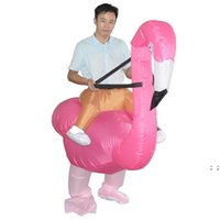 Costume di Halloween Gommoni di Natale Flamingo Cosplay Dress Up Party Spoof Costumes Abbigliamento per bambini Abbigliamento per bambini e adulti HWF9483