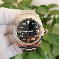 BP Maker أعلى جودة الساعات V5 الإصدار 40MM الهواء الملك 116900-71200 الياقوت آسيا 2813 حركة الميكانيكية التلقائي رجل ووتش الرجال المعصم