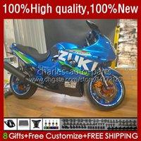 Bodys For SUZUKI KATANA GSXF600 GSX750F GSXF-600 03-07 33No.131 GSXF 600CC 750CC 750 600 CC 2003 2004 2005 2006 2007 GSX600F GSXF750 03 04 05 06 07 Fairing factory blue blk