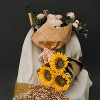 Cadeaux de journaux emballage de papier fleuriste fleur bouquet de fleur d'emballage Papier emballage pour anniversaire Thanksgiving Noël fête