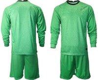 カスタム2021すべての国立チームゴールキーパーサッカージャージーメンズ長袖ゴールキージャージキッズGK子供サッカーシャツキット39