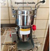 2000g Granos Especias Hebals Cereales Café Piscina para alimentos Dry Miller Miller Máquina Grist Midmill Medicine Medicina Harina Powder Crusher L0309