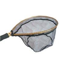 Рыболовный чистый нескользящий алюминиевый сплав посадочный посадочный посадочный рыболовный сеть для ловли рыб B99