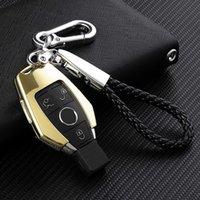 Heißer Verkauf Auto Schlüssel Brieftasche Fernbedienung für Mercedes Benz C S E Klasse W210 W212 W221 W222 W251 W212 W221 W222 W251 W263 Zinklegierung 3 Tasten Schlüsselabdeckung Fall