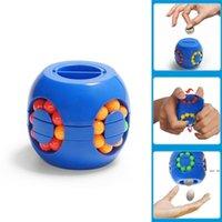 Странная форма волшебный куб творческий игрушка 360 градусов вращение экономии денег горшок классические игрушки гамбургер кубики подарок на день рождения для детей DHF5680