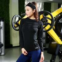 Spring and summer thin women' s sports top, yoga tights,...