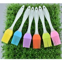 Fashion Silicone BBQ Brush Cooking Pastry Butter Brush Kitchen Heat Resistance Basting Oil Brushes Cake Cream Brushes Baking Tool