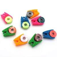 바느질 개념 도구 Inne 스레드 보빈 클립 액세서리 자수 색상 와이어 스풀 클램프 포옹 파트너 실리카 젤 12 개