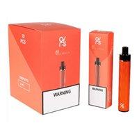 100% Ovns JCStick Mega Cigarettes jetables Kit de pod 950MAH 1200 Puffs 5ml Préris de grande capacité 5% Dispositif de vapeur de matériau en aluminium