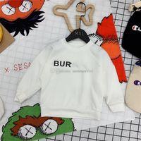 Enfants Lettre Sweatshirt imprimé Enfants Jumérisation à manches longues Fall Boys Filles Collier rond Casual Tops A7729