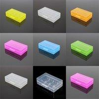 휴대용 플라스틱 배터리 케이스 박스 안전 홀더 저장 용기 팩 2 * 18650 또는 4 * 18350 리튬 이온 배터리 E Cig 458 R2
