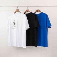 Moda Mens T Shirt Polos Nuovo Arrivo Uomo Donne Lettera di alta qualità Stampa Casual Manica Corta Famosa Stilista Mens Tees 3 Colori S-2XL