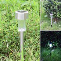 Lâmpadas de gramado 8 pcs terra sem fio solar led luzes à prova d 'água jardim exterior iluminação paisagem decorativa