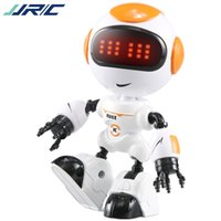 JJRC R8 Head Touch Control Mini Begleitung Roboter, Talk Tanz Early Education Spielzeug, DIY Geste Legierung Körper, Party Weihnachten Kind Geburtstagsgeschenk