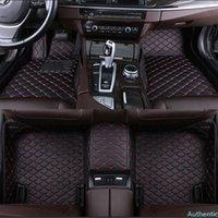 Custom car floor mat for V Class W447 Viano W638 W639 car accessories carpet Phone pocket