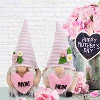 Giorno della mamma Holding Pink Love Love Doll Doll Dwarf Dwarf Dono Dono Creativo Ploth Ploth Art Doll Ornaments