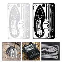 Fishing Hooks 2Pcs Professional Outdoor Survival Multi-tool Cards For Camping Hiking