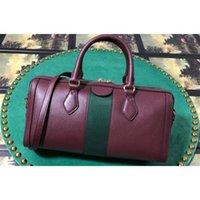 Com saco de meio frete 5a ophidias manusos bolsas Boston Totes Top Handbags Poeira 524532 DHL RealFine888 NFACI