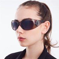 Occhiali da sole Vazrobe Fashion Donne Piccolo Faccia Occhiali da sole per sfumature bianche femminili Grigio Grigio Goggles UV400