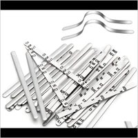 Craft Tools Bridge Strips Aluminum Metal Strip Adjustable Nose Clips Wire Diy Face Mask Making Accessories For Sewing Ips0C 9Dnwu
