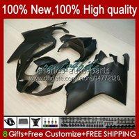 Moto carénages pour Aprilia RSV1000R Mille RV60 RSV-1000 RSV1000 R RR 04 05 06 Bodywork 11no.34 RSV1000RR RSV 1000 R 1000R 1000RR 2004 2005 Kit Body Kit matte noir