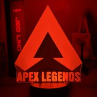 Night Lights Apex Legends LOGO Light Led Color Changing For Game Room Decor Ideas Cool Event Prize Gamers Birthdays Gift Usb Lamp