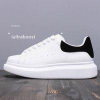 Alexander McQueen Luxurys المصممين الرجال النساء أبيض أسود رجالي أحذية espadrilles الشقق منصة الأحذية المتضخم espadrille أحذية رياضية مسطحة مع صندوق VBA