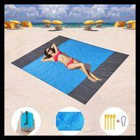 Outdoor Pads 2021 Waterproof Beach Blanket Portable Picnic Mat Camping Ground Mattress Bed Sleeping Pad