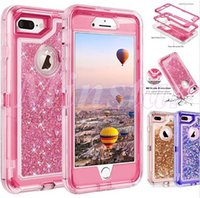 Caja de teléfono de cristal líquido de lujo Funda de teléfono de 360 grados Funda de defensor para iPhone 12 SE2 11 Pro Max XR XS x 6 7 8 Plus Note 10 PRO S10 5G S10E