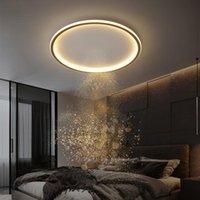 침실 천장 조명 현대 미니멀리스트 연구 식당 주방 울트라 얇은 라운드 인테리어 디자이너 LED 패널 조명기구