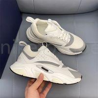 Designer B22 Sneakers Branco Couro Calfskin Sapatos Casuais Top Técnico Malha Técnica Mulheres Plataforma Multicolor Trainers