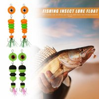 Fishing Hooks Lure Delicate Design 2x Bait Jig Swivel Big Eye Swim Insect Minnow Float Wobbler