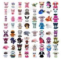 new 35 Design Plush Stuffed Toys 15cm Wholesale Big Eyes Animals Soft Dolls for Kids Birthday Gifts toy
