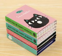 Kreativer Aufkleber Mini Tierklebrige Anmerkungen 4 Klappmemo Pad-Geschenke Schule Briefpapierbedarf Notizbücher Geschenk
