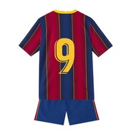 Kids Baby Clothes Training Suit Tracksuits Home Soccer Jerseys 20 21 Football futbol custom