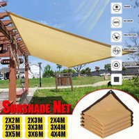 Tents And Shelters Beach Sun Shelter Sunshade Protection Net Outdoor Canopy Garden Patio Pool Shade Sail Awning Camping Picnic Tent Car Cove