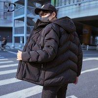 Winter Men Hooded Parkas Male Windproof Et Coat Men's Warm Parka Casual Fitness Coats Homme Outwear 2021 Drop Shipping