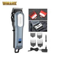 Şarj kablosuz şarj edilebilir kesme makinası kesici düzeltici lityum pil 6000-6500RM profesyonel saç kesme makineleri 210302