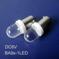 Bulbs High Quality 6.3v BA9S Led Signal Light,6v Instrument Lights,BA9S Indicating Lamp 500pcs lot