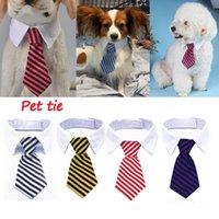 الحيوانات الأليفة الكلب الملابس القوس التعادل تعديل مخطط طوق قلادة العلاقات الجرو الملحقات الكلاسيكية لوازم WLL395